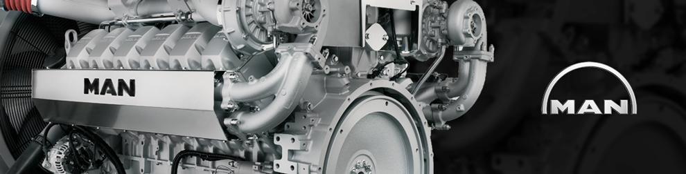 MAN Diesel Engine DMD
